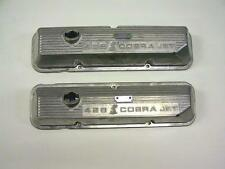 New Ford 428 SCJ 69-70 Shelby GT500 Mustang Mach 1 Snake Valve Covers