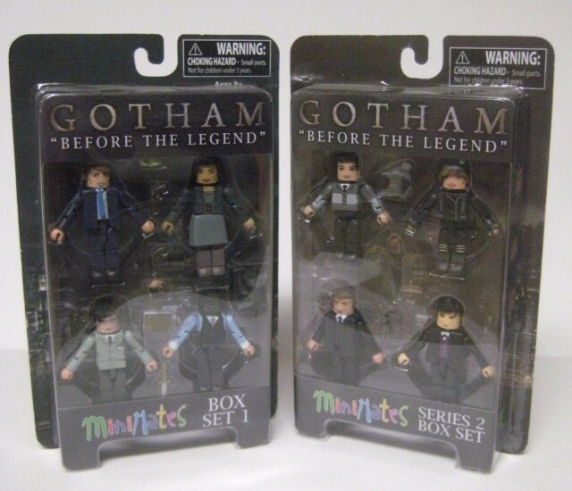 "Gotham Minimates /""Before the Legend/"" Series 1 Box Set"