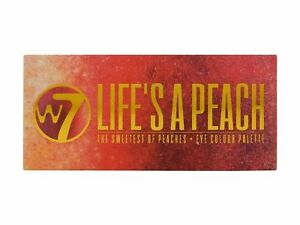 W7 Lifes a Peach the Sweetest of Peach 12 Colour Eye Shadow Palette Make Up Kit