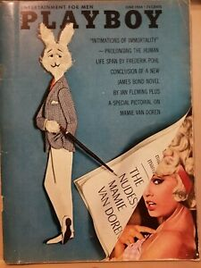 Playboy-June-1964-Very-Good-Condition-Free-Shipping-USA