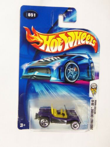 Lot of 4 Hot Wheels Mixed Assorted Carded Cars 2000/'s Slikt Back