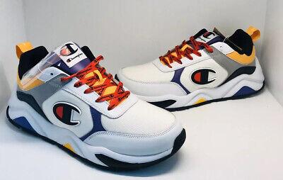 Champion Men/'s 93 Eighteen Shoes CM100116M Purple//Blue//White