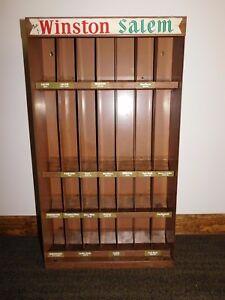 Details About Vintage 29 X 16 1 4 X 5 Old Store Winston Salem Cigarette Display Holder