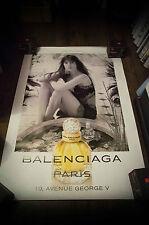 BALENCIAGA CHARLOTTE GAINSBOURG 4x6 ft Bus Shelter Original Fashion Poster