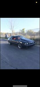 1986 Ford Mustang GR