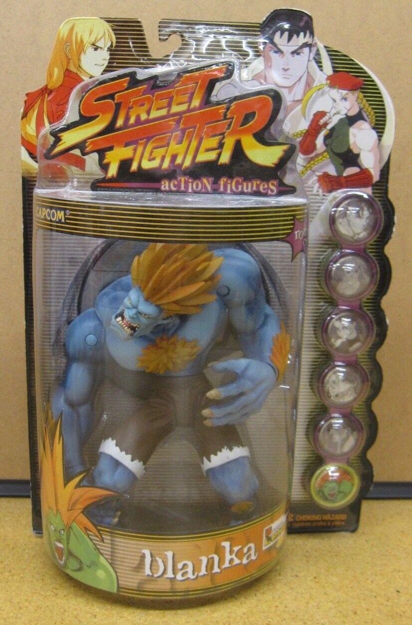 Street Fighter Blanka Player 2 ReSaurus Action Figure NEW Unopened
