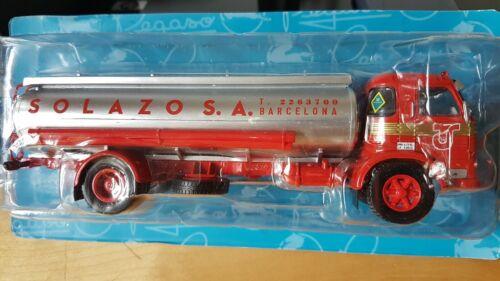 Pegaso Europa 1065L Solazo Escala 1//43 Colección Pegaso Salvat