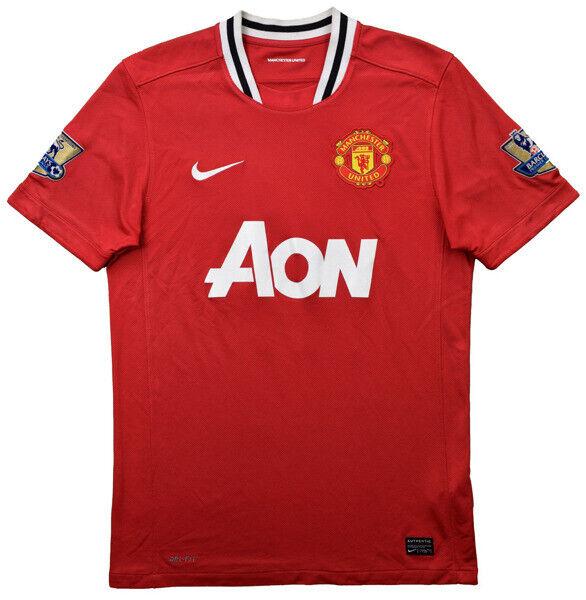 Nike 2011-12 MANCHESTER UNITED ROONEY SHIRT L Shirt Jersey Kit