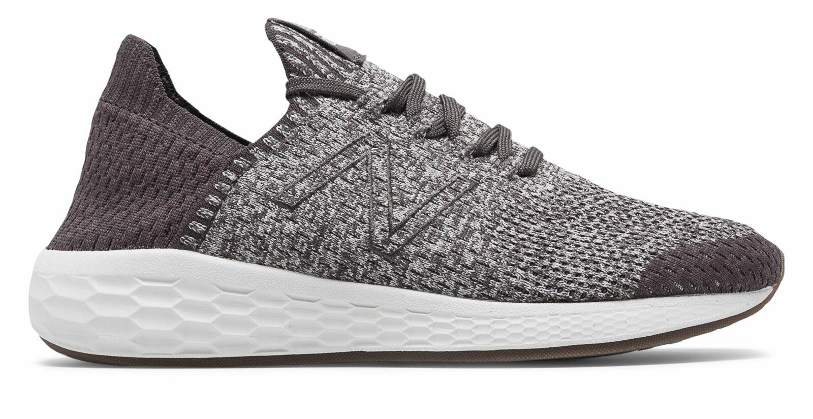 Para Hombre Fresh Foam New Balance Cruz sockfit Zapatos marrón con gris