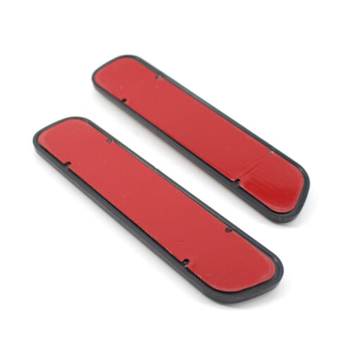 2x Red Exterior Reflective Safety Warning Self Adhesive Tape Sticker for Car