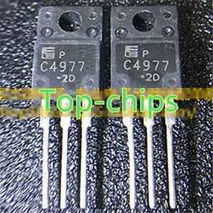 10Pcs-2SC4977-C4977-TO-220F-MOLD-TYPE-BIPOLAR-TRANSISTORS