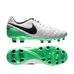 sale retailer 7f11f e6064 Image is loading Nike-Tiempo-Genio-II-Leather-Firm-Ground-Soccer-
