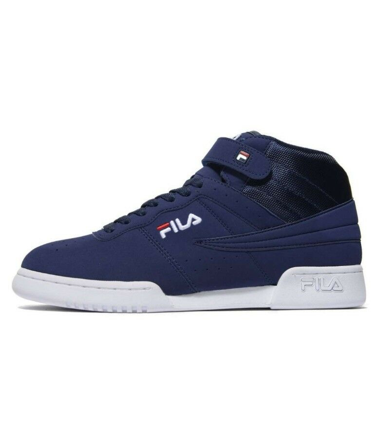 Fila F13 Mens Navy , Blue/white  Hi Top Trainers SIZE 11 Euro 46 The latest discount shoes for men and women