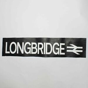 Longbridge-Station-bus-blind-vintage-screen-printed-Yardley-Wood-destination