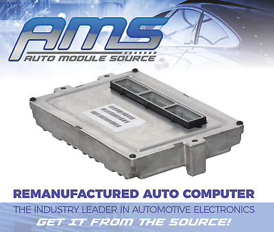 2001 2002 Dodge Caravan ENGINE COMPUTER  MODULE ECM PCM Remanufactured