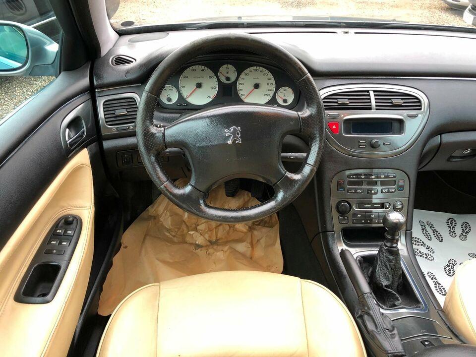 Peugeot 607 2,2 Titane Benzin modelår 2004 km 170000