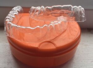 Details about Custom Fit Dental Orthodontic Essix Retainer UPPER@LOWER  +Free Protective Case
