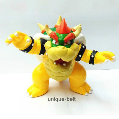 Super Mario Brother Bros Bowser King Koopa Action Figure Figurine Toy Gift Toys