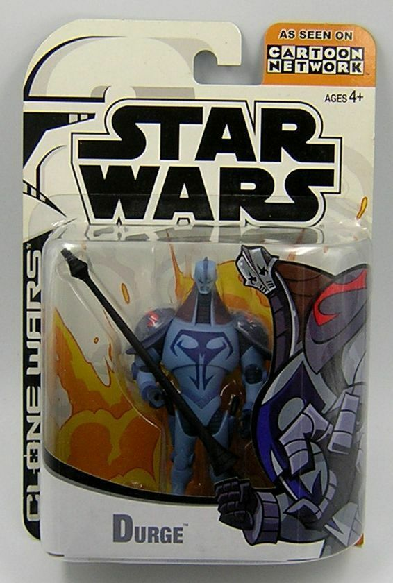 Star Wars Clone Wars 2003 Animated Series Durge 1st Release