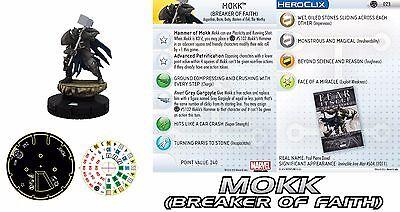 MOKK #023 #23 Fear Itself Month Marvel Heroclix Rare