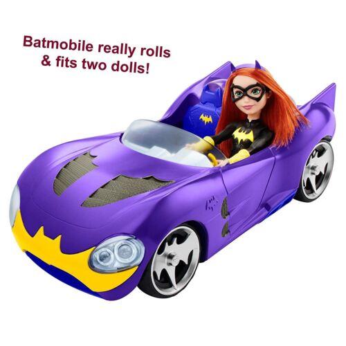 DC Comics Superhero filles Batgirl doll /& Batmobile FTF36