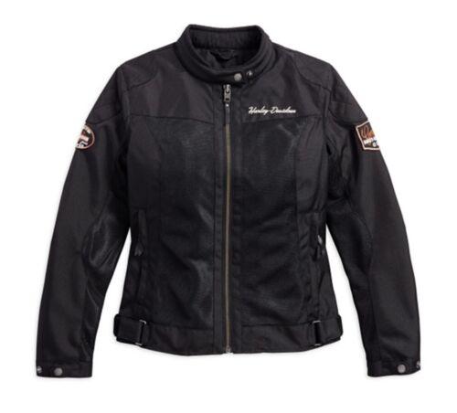 Harley Davidson Bar /& Shield Logo Mesh Ladies Jacket 98169-17EW