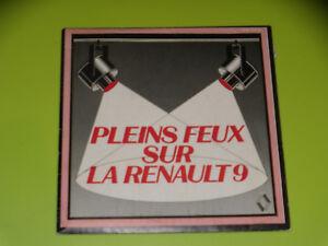 45-Giri-Sp-Completo-Luci-su-la-Renault-9-Richard-durante-System-1982