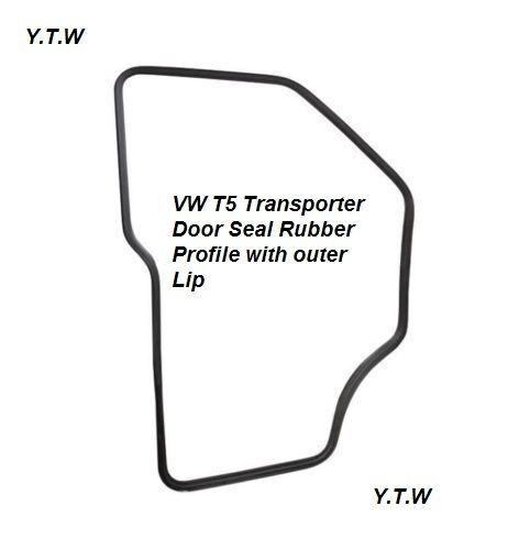 neuf *** T5//transporter T6 porte avant joint en caoutchouc s/'adapte à la fois lh//rh