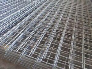 $14/each Galvanized steel wire mesh sheet ,1.2m*2.4m 100mm*100mm ...
