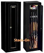 Security Gun Cabinet Safe 10 Gun Rifle Storage Locker Shotgun  Firearm Key Coded