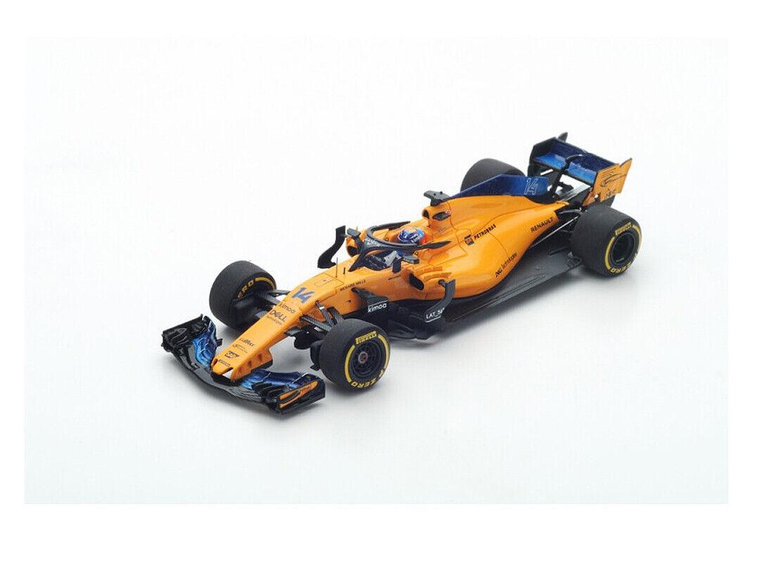 Spark F1 1 43rd scale McLaren MCL33 - F. ALONSO - 2018 Australian Grand Prix