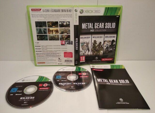 METAL GEAR SOLID HD Collection Jeu XBOX 360 -PAL français -Très bon état Complet