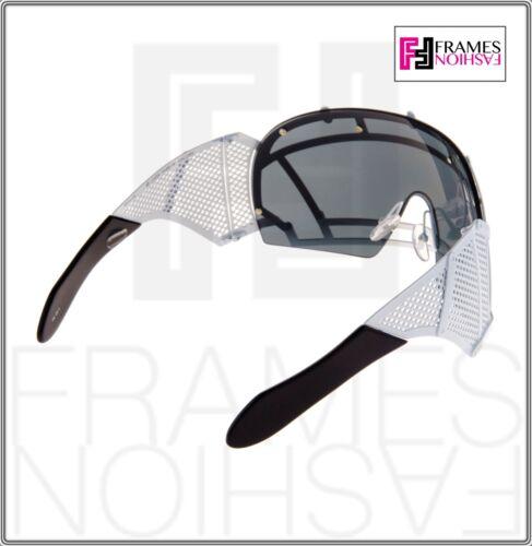 f3994414c363 5 of 9 KTZ x Linda Farrow Football Helmet Sunglasses Black White Mirrored  Mask KTZ1