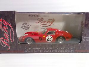 Bang 1/43 Ferrari 250 Gto Le Mans 62 Elde Beurlys # 22 Cod 7226