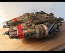 Starduster Scale Model, Star Wars Millennium Falcon inspired, Martin Bower