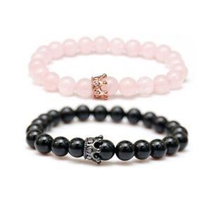 bracelet couple beads