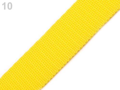 viele Farben - 3m Taschengurt 30 mm Gurtband aus Polypropylen 0,80€//m