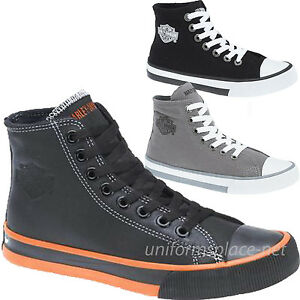 Black Polo High Top Shoes