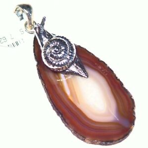 Samuel-B-Behnam-BJC-Natural-Stone-Sterling-Silver-925-Vintage-Necklace-Designer