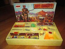 NIB Vintage Comansi Davy Crockett El Heroe Del Alamo Playset Western Town Spain