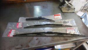 Genuine-Honda-FR-V-Front-amp-Rear-Wiper-Blades-For-Honda-FRV-2005-2009