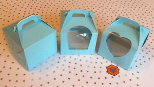 10-or-more-Premium-Single-Cupcake-Boxes-Light-Blue-STAR-BUY