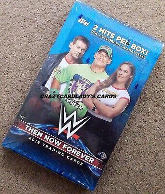 NOW 2018 TOPPS WWE THEN FOREVER WRESTLING HOBBY BOX FACTORY SEALED NEW