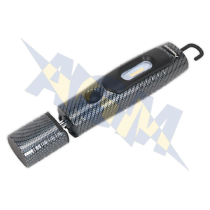 Sealey Rechargeable 360º Inspection Lamp 7 SMD LED Carbon Fibre 3W LED