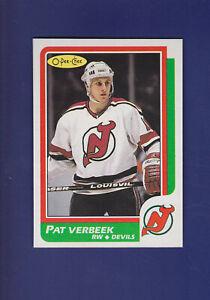 Pat-Verbeek-1986-87-O-PEE-CHEE-Hockey-46-MINT-New-Jersey-Devils