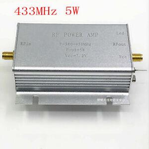 433MHz-RF-Power-Amplifier-433MHZ-5W-7-2V-For-380-450MHz-Wireless-Remote-Contro