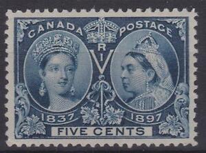 Canada-1897-54-Diamond-Jubilee-Issue-Queen-Victoria-MH-VF