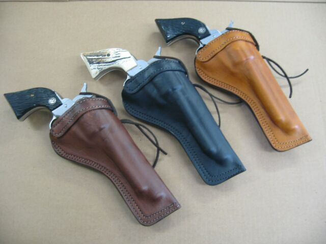 AZULA Leather Cross Draw Single Action Revolver Holster For  Choose Gun  Model A