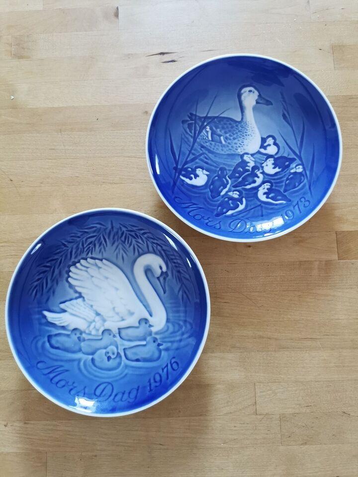 Porcelæn, Morsdags platte, Bing og grøndahl
