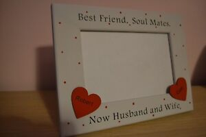 Personalised Handmade Friends Husband And Wife Photo